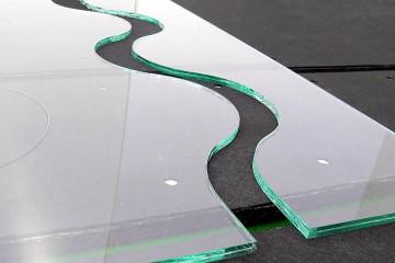 Prelucrare sticla CNC