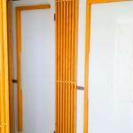 toaleta cu separatoare sticla
