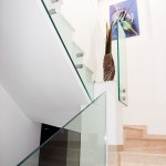 balustrada interioara din sticla