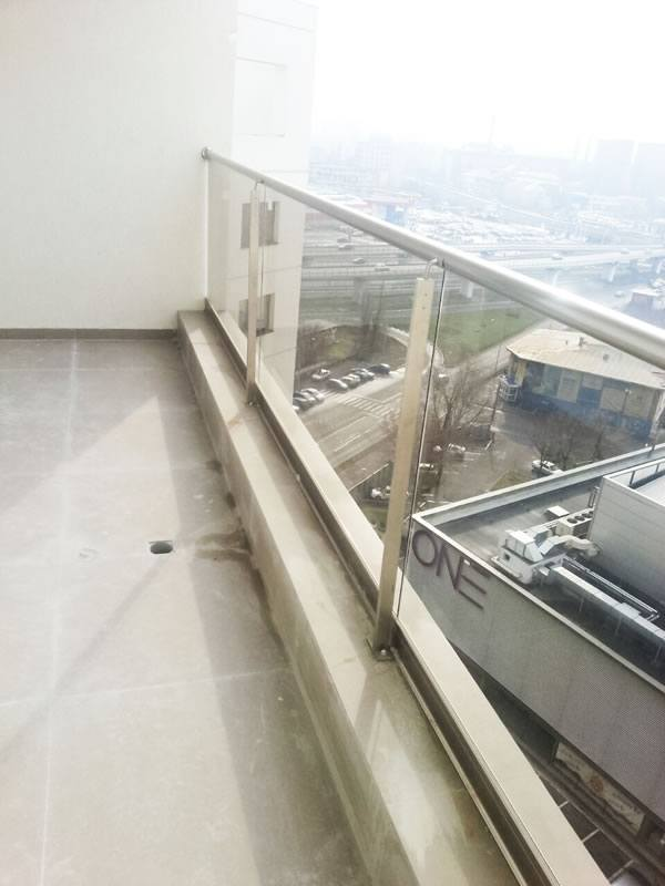 balustrada balcon de sticla
