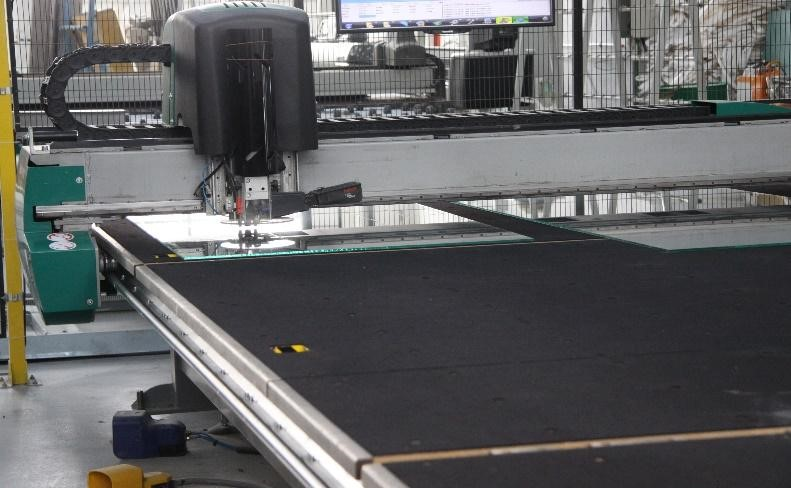 automated glass cutting machines transparent design
