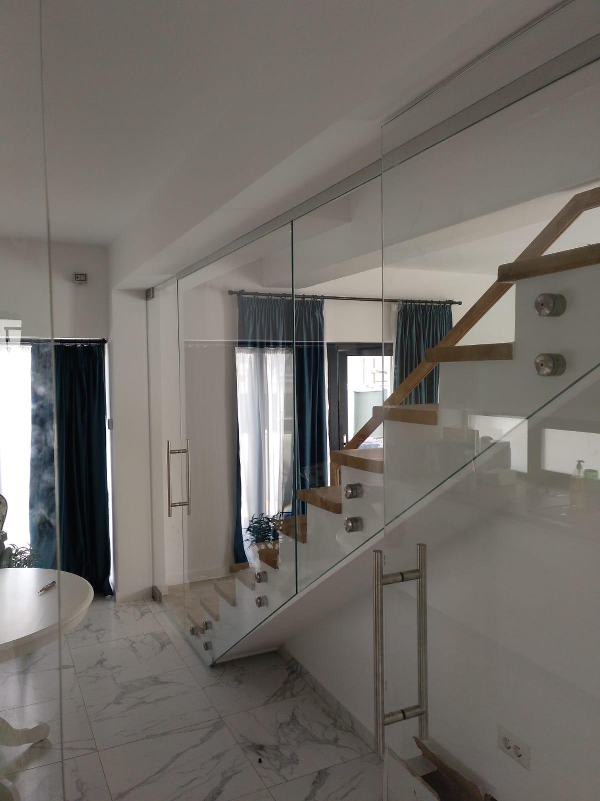 balustrade sticla